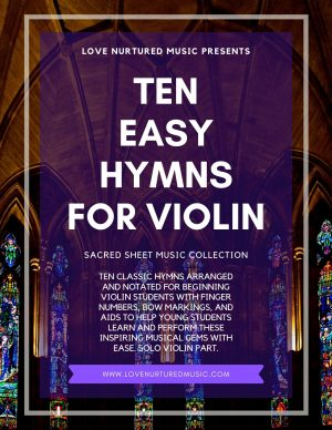 Ten Easy Hymns For Violin Collection